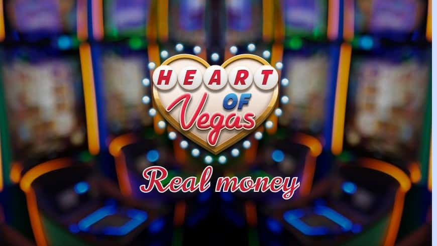 Heart of Vegas: real casino slots online for real money