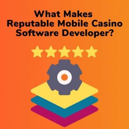 What Makes A Reputable Mobile Casino Software Developer