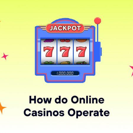 How do Online Casinos Operate?